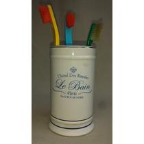 Porta Escovas De Dentes De Porcelana Hotel De Paris França