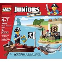 Juguete Lego Juniors 57 Pcs Del Pirata Búsqueda Del Tesoro