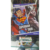 Coleção Mundo Dos Super Heróis Dossiê - Superman E Thor.