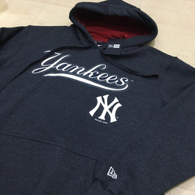 Blusa Moletom New Era Mlb New York Yankees Original Mescla