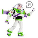 Buzz Lightyear 30cm Articulada Disney Store Luz Sonidos
