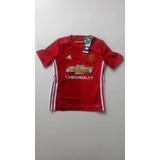 Camiseta Manchester United 2016-2017 Titular Niño adidas