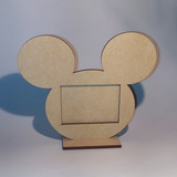 30 Souvenir Portaretrato Mickey Mouse - Disney - Fibrofácil