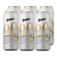 Quilmes 0% . Cerveza . 473ml X 6 - Tomate Algo® -