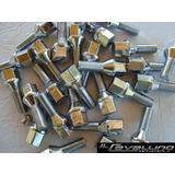 Set De 16 Tuercas O Bulones Cromados P/ Llantas Aleacion