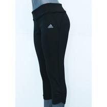 Capri Adidas 3/4 Lycra De Dama Climalite Para El Gym, Correr