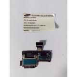 Flex Do Slot Do Sim Card E Cartão Micro Sd S4 Mini Gt-l9192