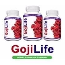 Goji Life 2 Potes 120 Caps + Frete Gratis O Mais Vendido
