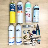 Kit Refrigeração Carga De Gás Varios Doméstico E Automotivo