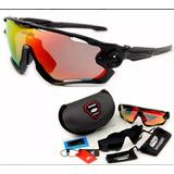 c6f22f87518d2 Óculos + Brinde Modelo Jawbreaker 3 Lentes Ciclismo Mtb Uv
