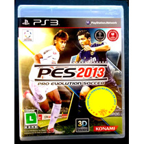 Pro Evolution Soccer 2013 Ps3 Pes 13 Lacrado Pronta Entrega