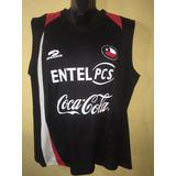 Camiseta Entrenamiento Selección Chilena, Brooks, Talla M