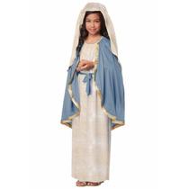Disfraz De Virgen Maria Navidad Para Niñas Envio Gratis