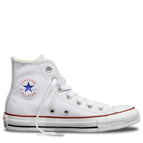 Zapatillas Mujer Converse Ct As Leather Hi White
