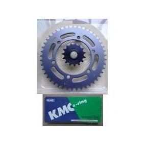Kit Relação Cbx 250 Twister Com Retentor Aço 1045
