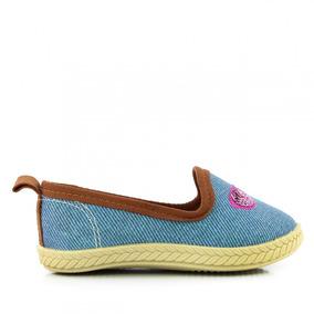 92790e8b653 Sapatilha Molekinha 2116.115 Jeans Infantil Menina - Coutope