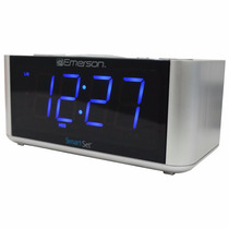 Radio Am Fm Reloj Despertador Emerson 2 Alarmas 3 Modos 6400