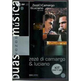 Dvd + Cd Zezé Di Camargo E Luciano - Ao Vivo (lacrado)