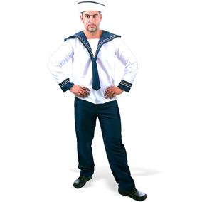 Fantasia De Marinheiro Adulto Luxo Carnaval Sulamericana