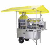 Carrinho Ambulante Churrasco, Hot Dog+pastel+batata+lanches