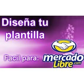 Plantillas Editables Para Vender En Mercado Libre