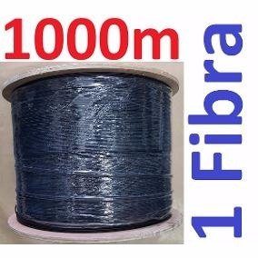 Cabo Fibra Optica Drop 1fo 1k De 1000mts Cabo Sustentavel