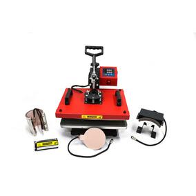 Maquina De Estampar 4x1 Prensa Térmica 4 Em 1