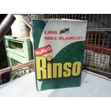Antigua Caja Detergente Rinso (nuevo)