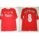 5124e363cb5f6 Camiseta Liverpool Cinza G Reebok no Mercado Livre Brasil