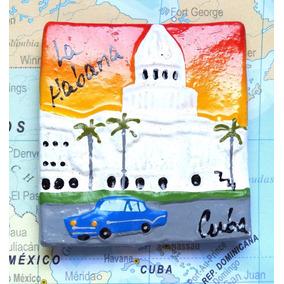 Cuba - Capitolio 6 - Carro 1 - Havana - Imã De Geladeira