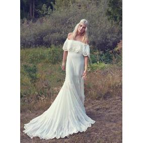Vestido Novia Bohemia Casamiento Boho Chic 2017