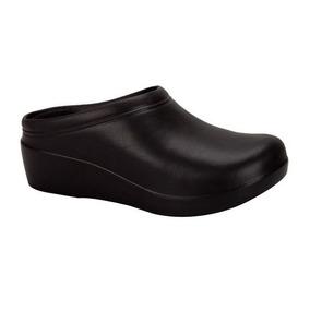 Zapato Tipo Sueco Con Cuña Para Chef Dama 148133