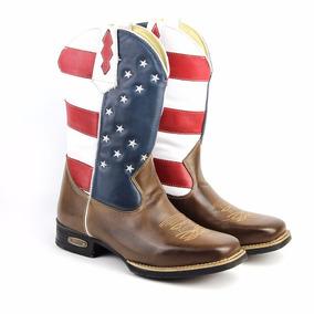 Bota Texana Couro Legitimo!!