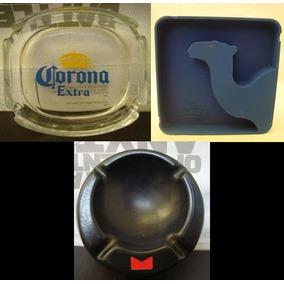 5 Cenicero Cerveza Corona Marlboro Camel * Changoosx