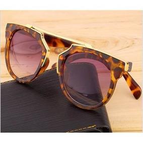 e81b57ba41460 Óculos De Sol Luxo Crist D So Real Onça Espelhado Feminino
