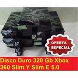 Disco Duro 320 Gb Xbox 360 Slim Y Slim E 5.0 ( Usado )