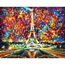 Paris Of My Dreams - Pintura Al Óleo Del Maestro L. Afremov