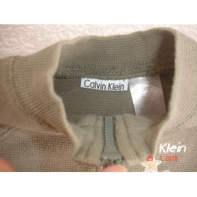 Conjunto Bebe Talla 3 A 6 Meses Varon Calvin Klein Original