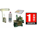 Kit Overloque Semi Industrial 220v + Base + Luminária + Òleo