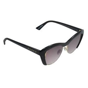 Óculos Feminino Evoke Cat City Black Shine Brown Gradient