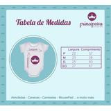 Kit 12 Body Mesversario Princesas Disney Baby Cute Personal