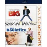 Blu-ray Big / Mrs Doubtfire Importado