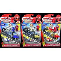 Oferta Motos Power Rangers Super Megaforce Silver Blue Red
