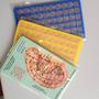 Kits Com 10 Cartelas Placa Ponto Para Auriculoterapia
