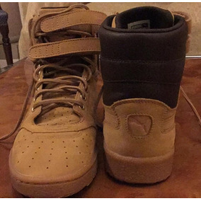 Borcegos /botas Puma Con Cuero De Hombre