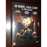 Box Trilogia Se Beber Nao Case 3 Dvds Dublado Lacrado !