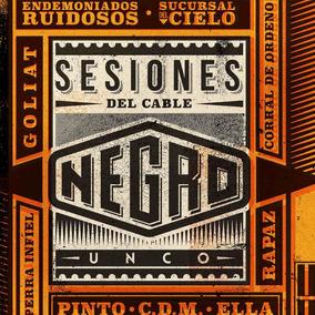 Cd Música Rock Sesiones Del Cable Negro Unco (digital)