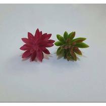Kit Suculentas Artificial Flores Plantas Jardim Vertical