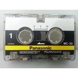 Microcassette Mini-cassete Panasonic Mc-30,p/ Microgravador