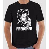 Camiseta Preacher Jesse Custer - Hq - Serie